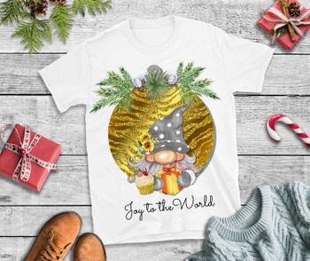 Christmas T Shirt Joy of the World T Shirt