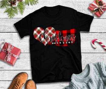 Christmas T Shirt Christmas Scarf T Shirt