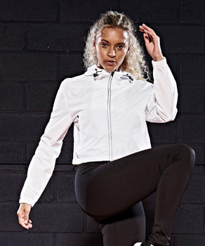 Ladies Cool Cropped Windshield Jacket