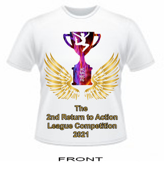 T Shirt -The 2nd Return To Action League 2021