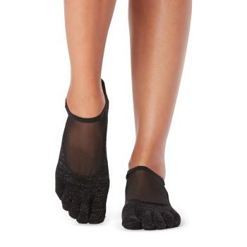 ToeSox Full Toe Luna - Grip Socks In Glisten