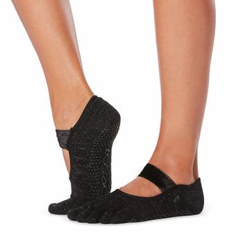 ToeSox Full Toe Mia - Grip Socks In Gala
