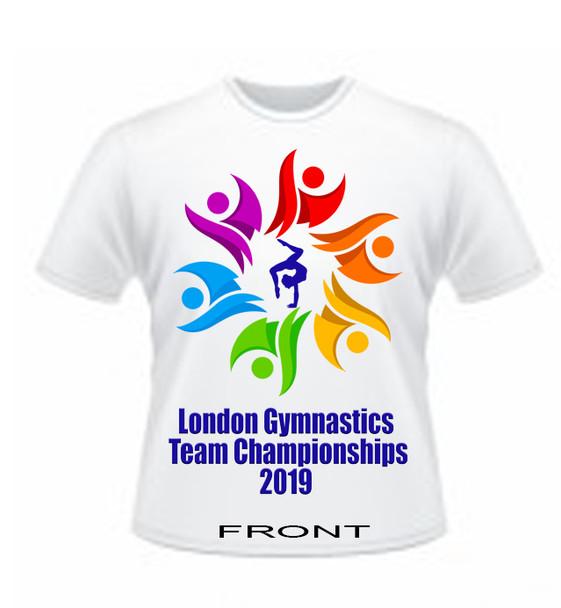 T Shirt Teams Championships  2019 London Gymnastics