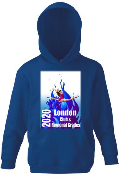 Hoodie London Gymnastics Club and Regional Grades  2020