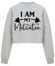 Childs Cropped Gym Sweat