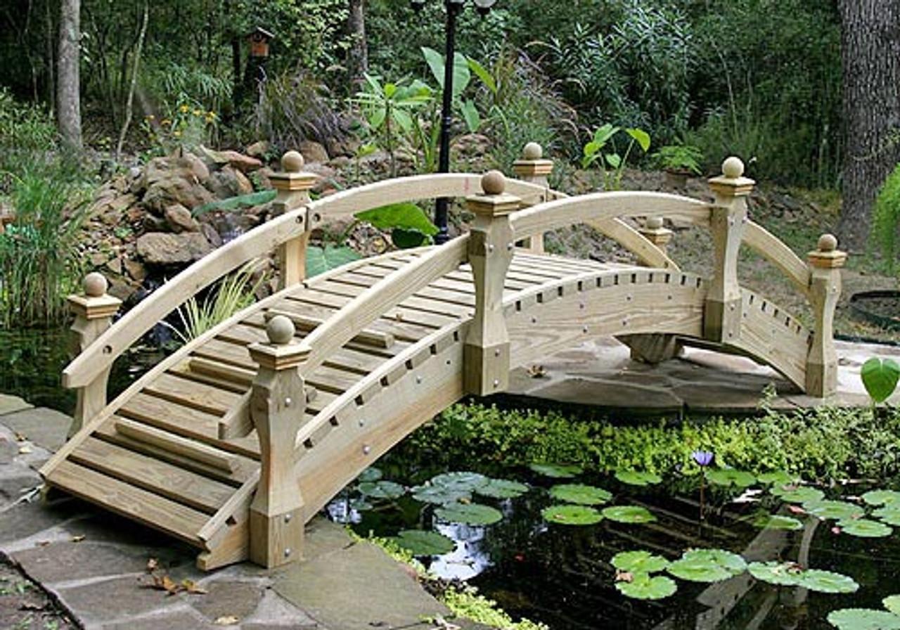 16 High Rise Low Rail Garden Bridge