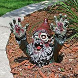 Don't pass up this Zombie Gnome...He is Perfect for HALLOWEEN!
