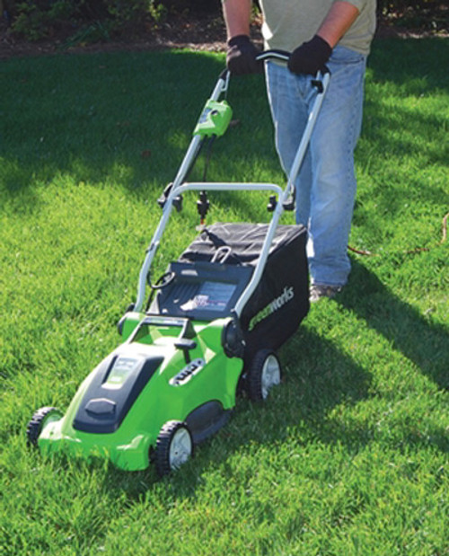 """16"""" 10A 2-in-1 Electric Mower"""