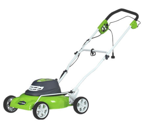 """18"""" 12A 2-in-1 Electric Mower"""