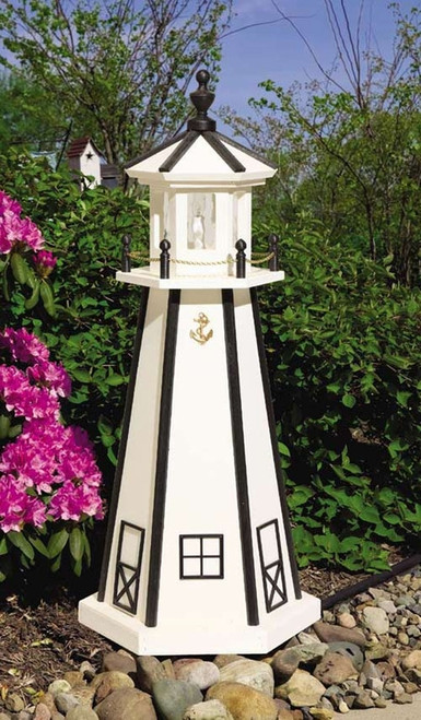 Painted Lighthouse (5')