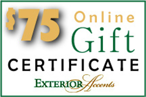 $75 Online Gift Certificate