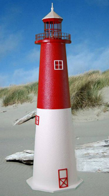 Barnegat E-Line Stucco Lighthouse (5')