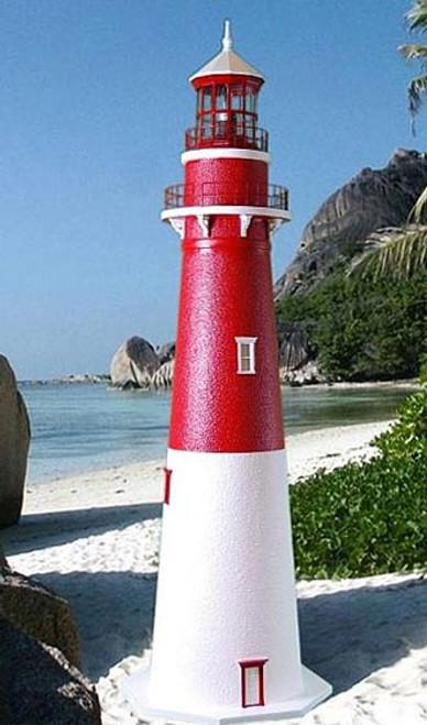 Barnegat Stucco Lighthouse (8')