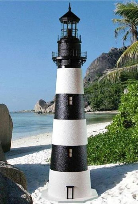 Bodie Island Stucco Lighthouse (4')