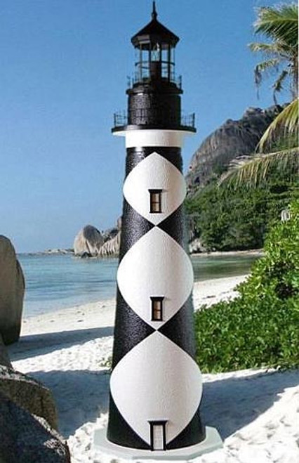 Cape Lookout Stucco Lighthouse (3')