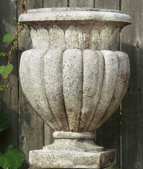 Carved Stadium Garden Urn