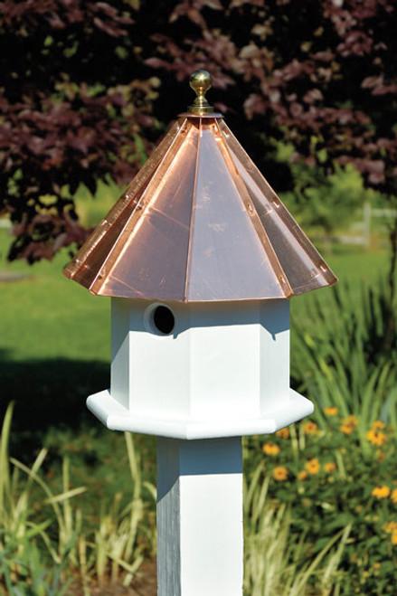 Heartwood Oct-Avain Double Birdhouse