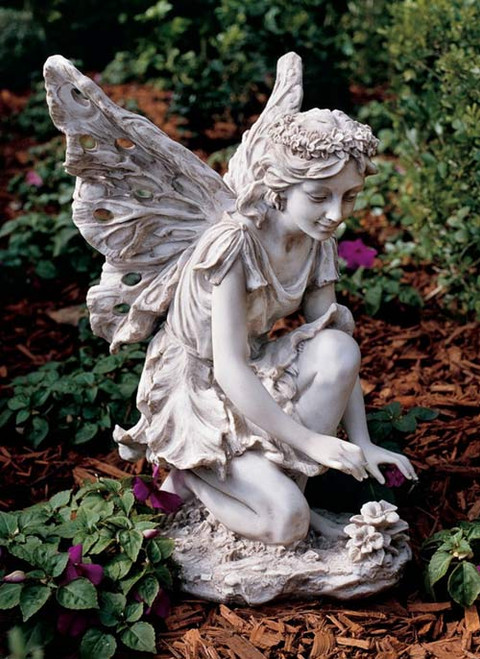 "Fiona Flower Fairy Statue (17""H)"