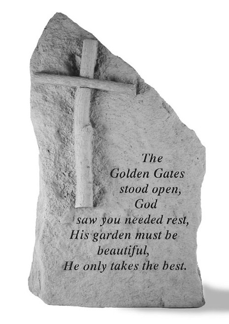 The Golden Gates Cross Memorial Stone