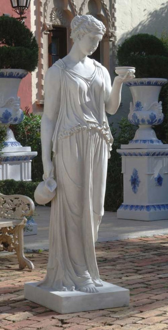 "Hebe The Goddess of Youth Statue 32""H"