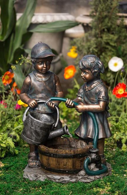 "Kids Water Fountain 26""h"