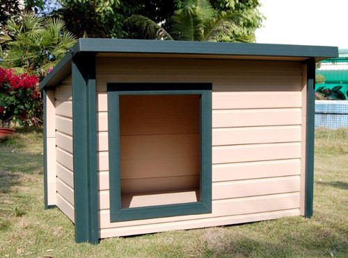 EcoConcepts Rustic Lodge Dog House (Medium)