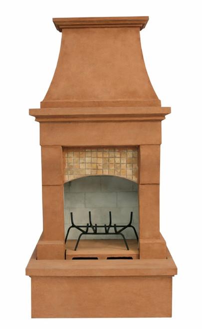 Midsize Freestanding Outdoor Fireplace (Desert Tan)