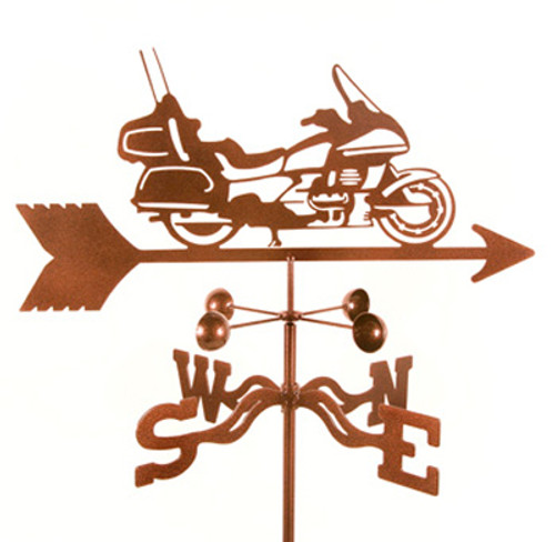 Motorcycle - Touring Weathervane