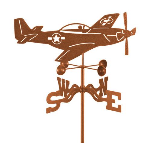 P-51 Mustang Weathervane