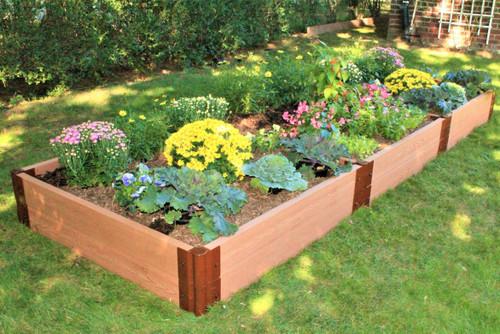 "Tool-Free Classic Raised Garden Bed  4' x 12' x 11""  (2"" profile) Sienna"