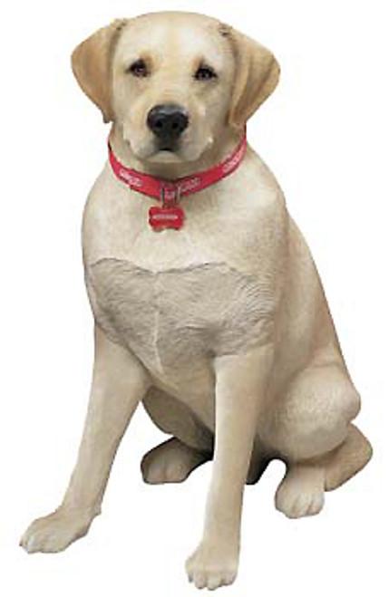 """Sandicast Yellow Labrador Retriever Statue (27""""H)"""