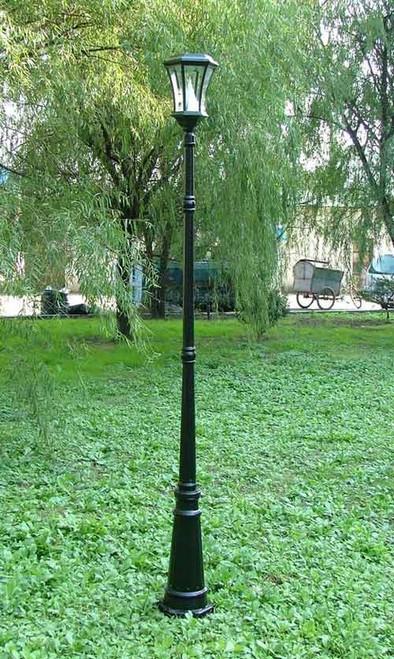 "Victorian Solar Lamp Post (88""H)"