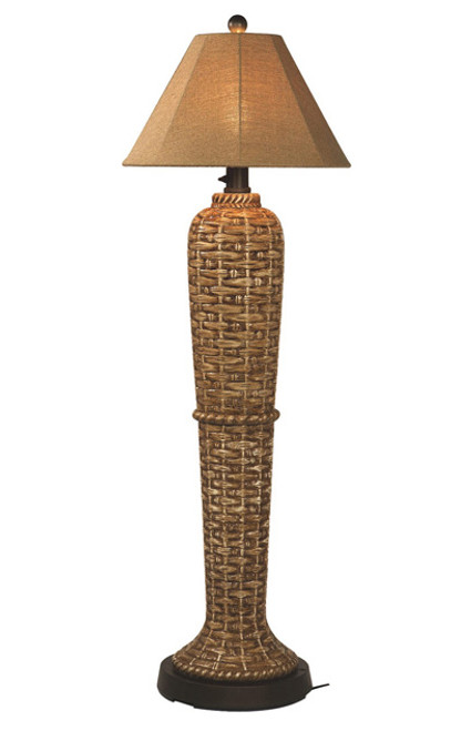 South Pacific Outdoor Floor Lamp