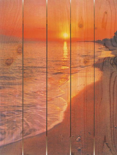 Sunset Beach Wall Art