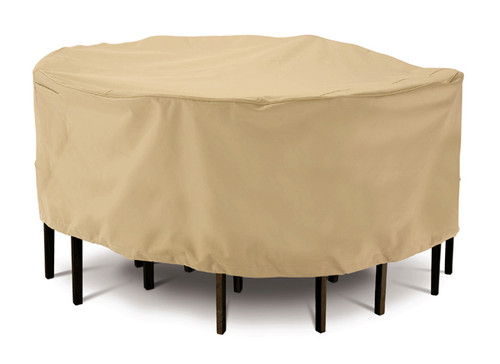Terrazzo Round Patio Table and Chair Set Cover (Medium)