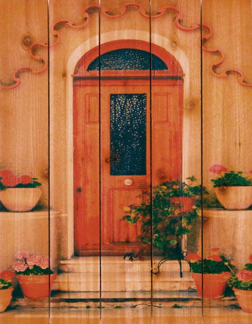Tile Door Wall Art