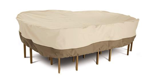 Veranda Oval Patio Table & Chair Set Cover (Medium)