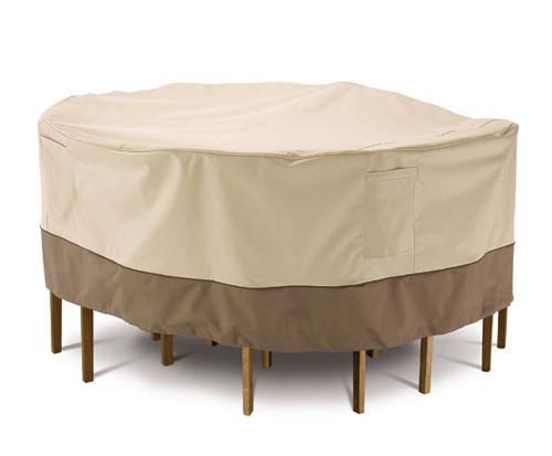 Veranda Round Patio Table & Chair Set Cover (Tall)