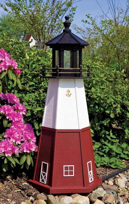 Vermilion Wood Lighthouse (4' High)