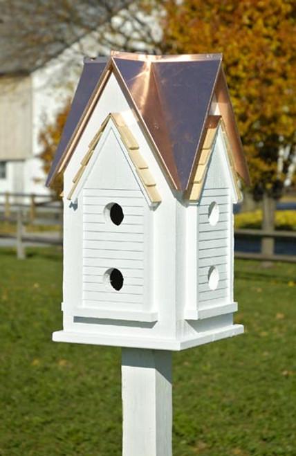 Heartwood Victorian Mansion Birdhouse