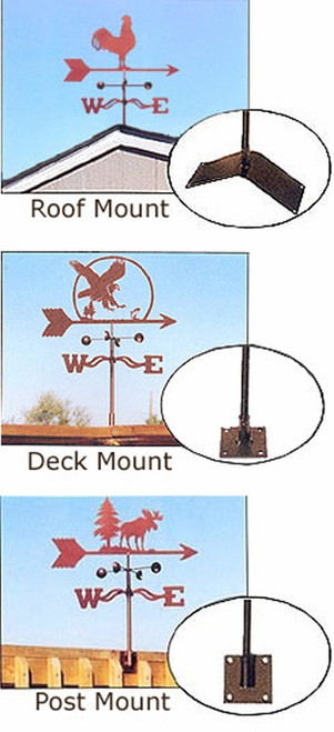 Garden Weathervane Mount Only