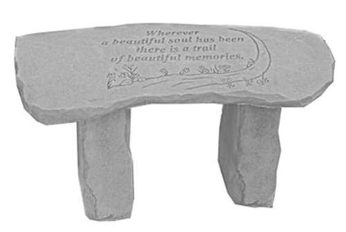 Wherever A Beautiful Soul...Small Memorial Bench