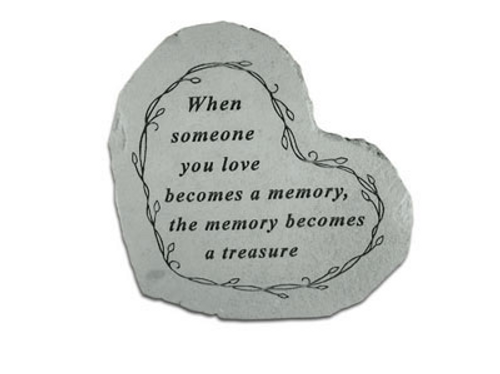 When Someone You Love...Memorial Stone