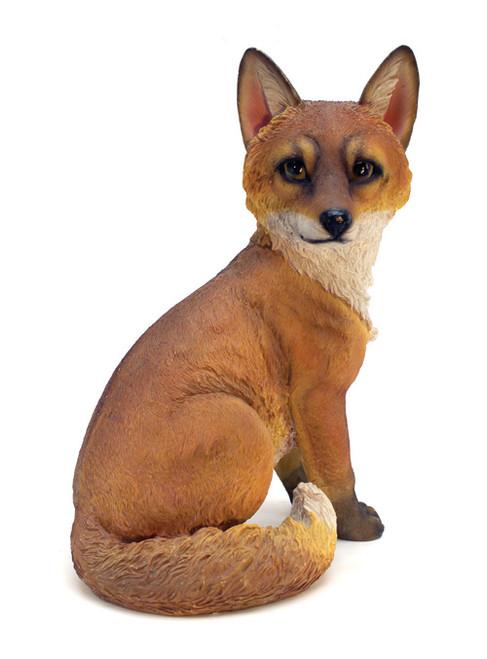 """Woodland Fox Garden Statue 14""""H"""