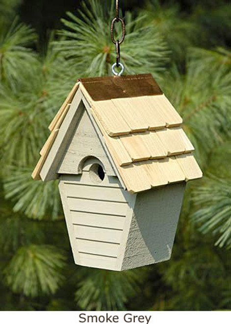 Heartwood Wren-in-the-Wind Birdhouse