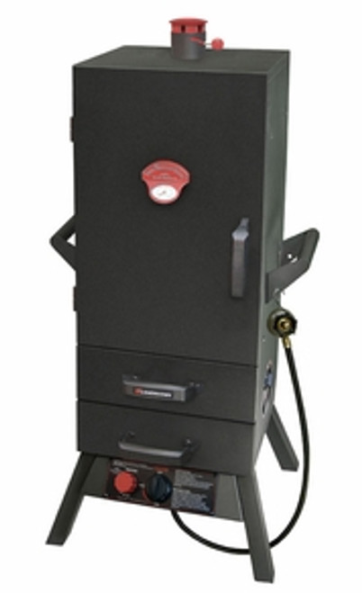 "34"" Gas Two Drawer Vertical Smoker"