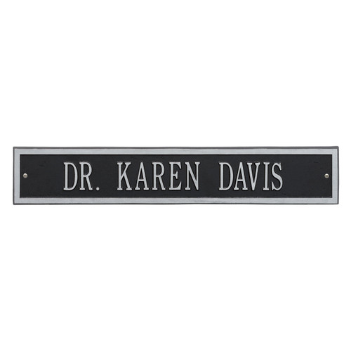 Extension for Arch Address Plaque 24L x 4H  (1 Line)