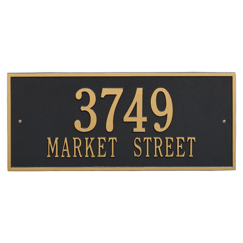 "Hartford Address Plaque 23.25""W x 10""H (2 Lines)"