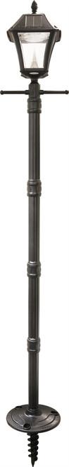Baytown II Solar Lamp Post with EZ-Anchor Base