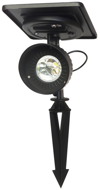 Progressive Solar Spotlight with Bright LED's